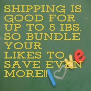Other - Bundle your likes to save even more!!!